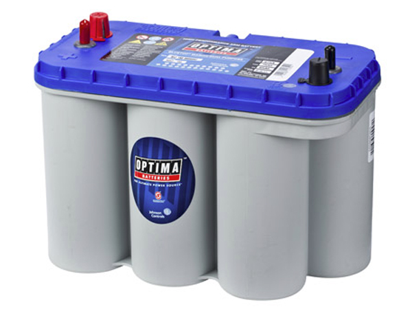 Aku Optima 75Ah 975A DC5,5 Blue Top Veesõidukitele