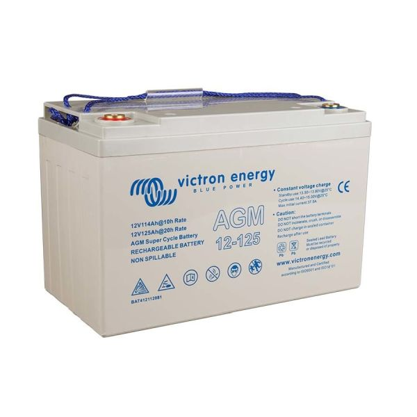 Aku Super Cycle Battery 12V 125Ah, 330 x 171 x 214mm